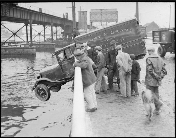 Автомобильные аварии 30-х годов в Бостоне - №2