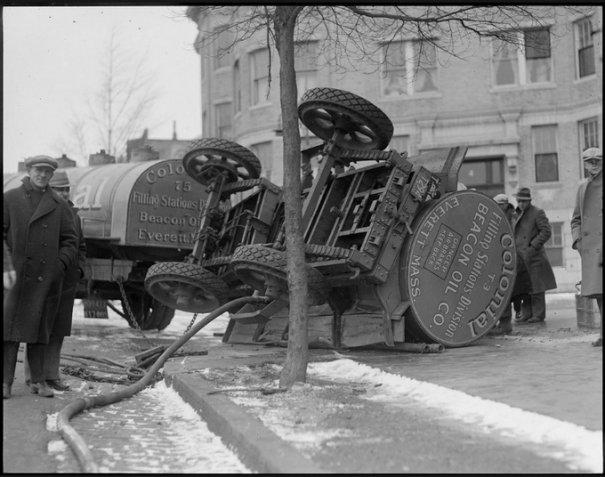 Автомобильные аварии 30-х годов в Бостоне - №4