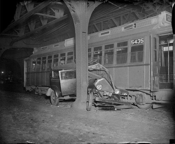 Автомобильные аварии 30-х годов в Бостоне - №6