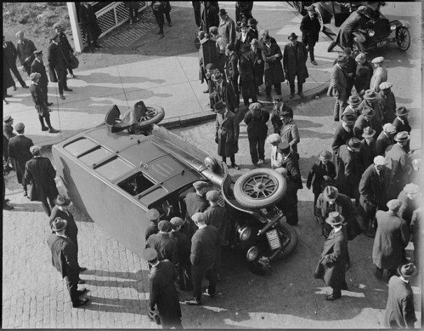 Автомобильные аварии 30-х годов в Бостоне - №7