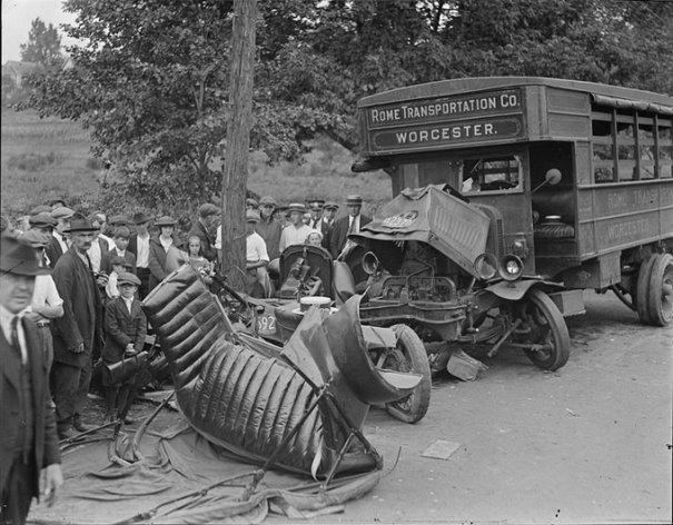 Автомобильные аварии 30-х годов в Бостоне - №8
