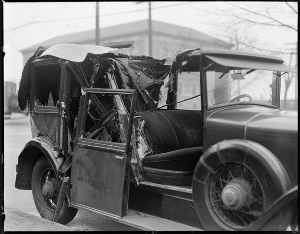 Автомобильные аварии 30-х годов в Бостоне - №11