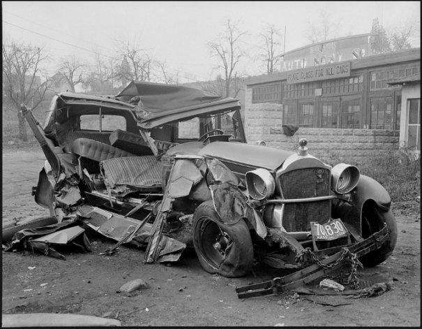 Автомобильные аварии 30-х годов в Бостоне - №12