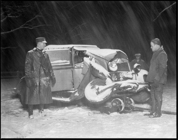 Автомобильные аварии 30-х годов в Бостоне - №13
