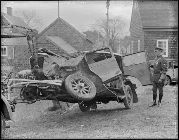 Автомобильные аварии 30-х годов в Бостоне - №14