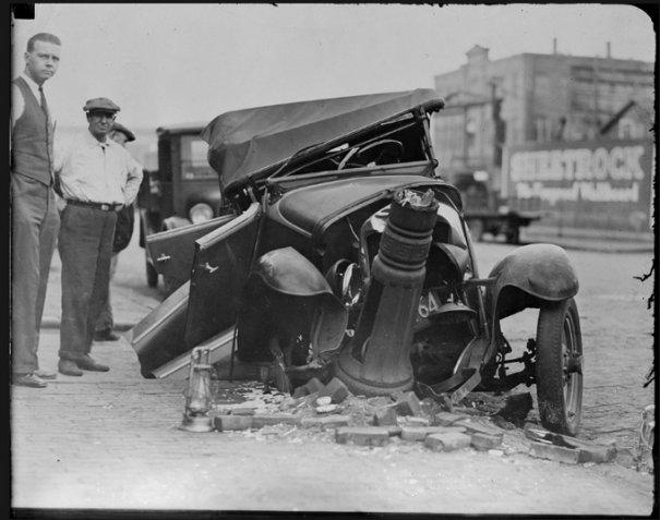 Автомобильные аварии 30-х годов в Бостоне - №15
