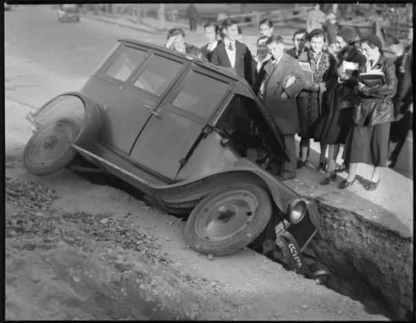 Автомобильные аварии 30-х годов в Бостоне - №17