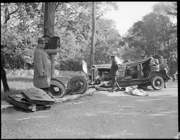 Автомобильные аварии 30-х годов в Бостоне - №18