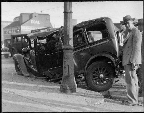 Автомобильные аварии 30-х годов в Бостоне - №19