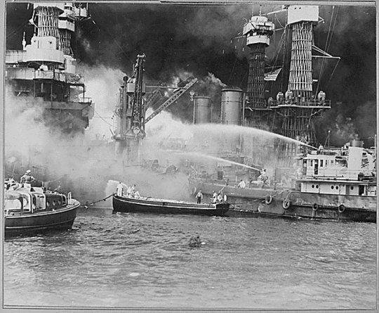 Пожар на USS Вирджиния
