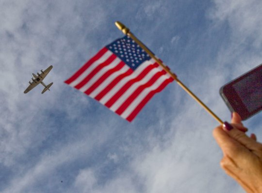 Бомбардировщик B-17  - спустя 70 лет