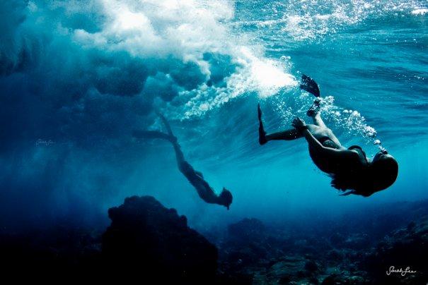 Подводная фотография Сары Ли - №2