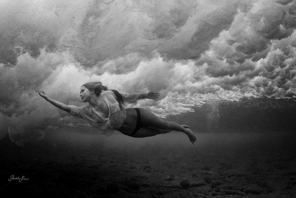 Подводная фотография Сары Ли - №3