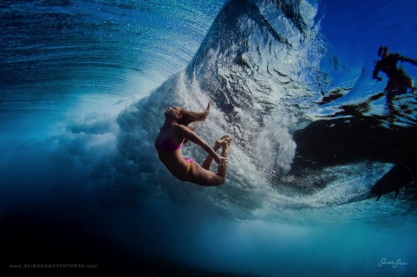 Подводная фотография Сары Ли - №6