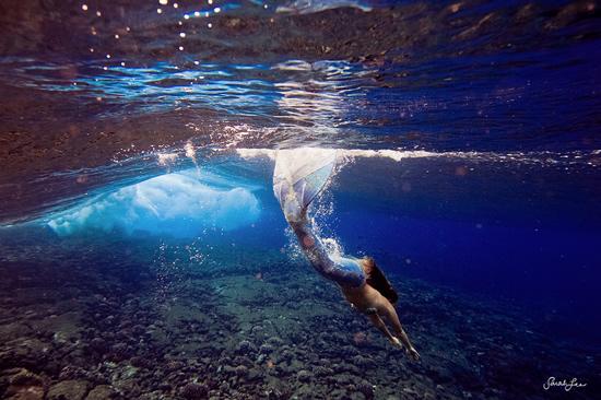 Подводная фотография Сары Ли - №13
