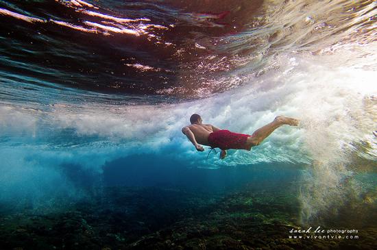 Подводная фотография Сары Ли - №16