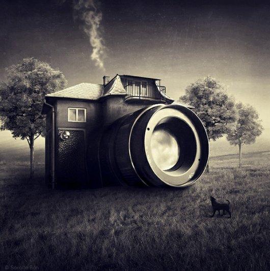 Шедевральные фотоманипуляции Саролты Бан (Sarolta Bán) - №13