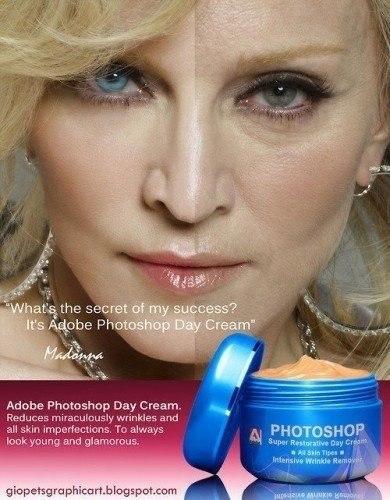 Дневной крем для лица Adobe Photoshop - №1