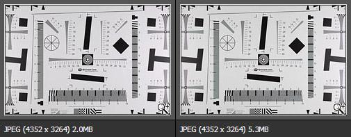 Внутрикамерный JPEG и конвертированный из RAW