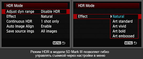 Режим HDR