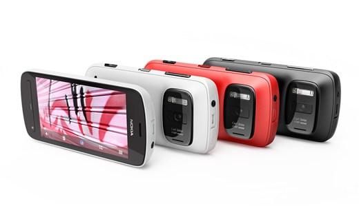 Смартфон Nokia 808 Pureview с разрешением сенсора 41 МП - №1