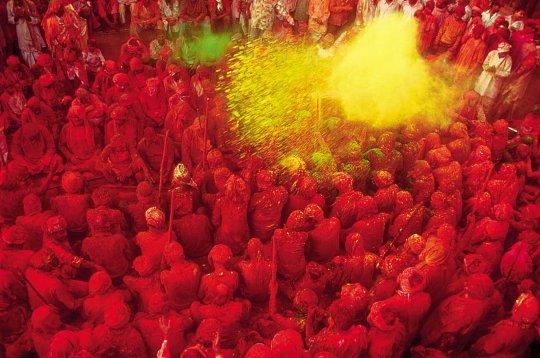 Праздник Холи 2011, Мумбаи