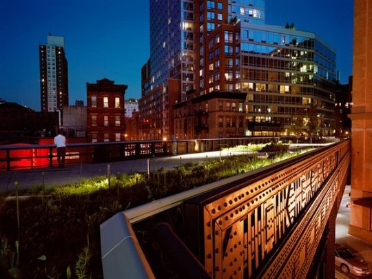 High Line, Нью-Йорк(фото:Diane Cook and Len Jenshel)