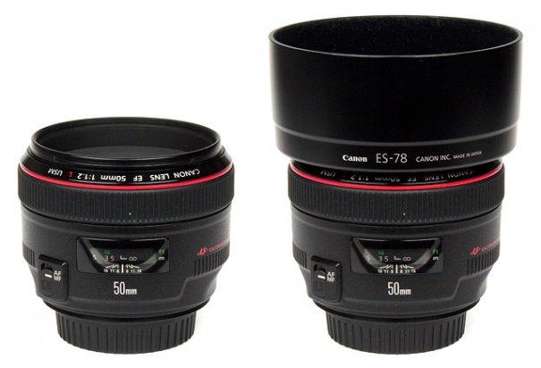 Обзор объектива Canon EF 50mm f/1.2 USM L - №2