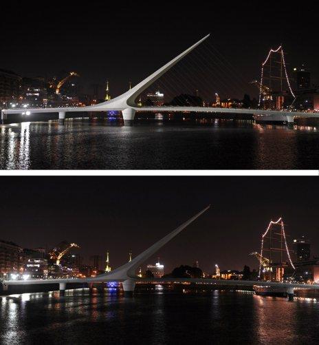 Мост Женщины,Буэнос-Айрес,Бразилия(фото:Alejandro Pagni)