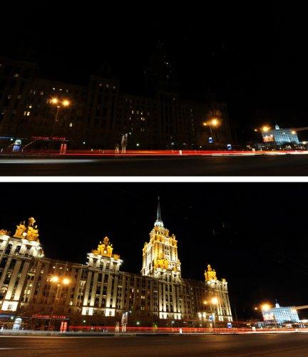 """гостиница """"Украина"""", Москва(фото:Андрей Смирнов)"""