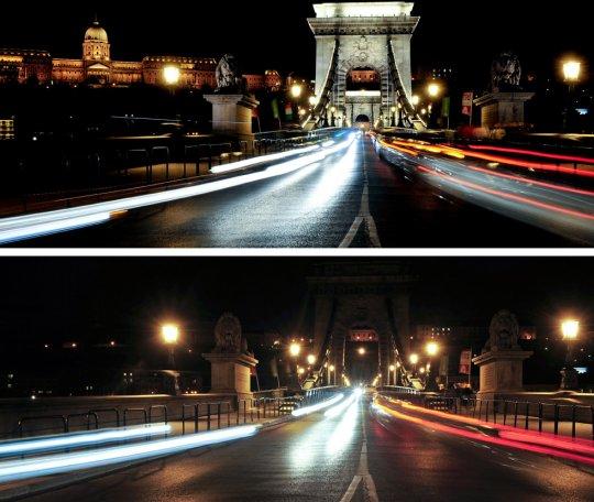 """Дворец Будды и """"Цепной мост"""",Будапешт,Венгрия"""