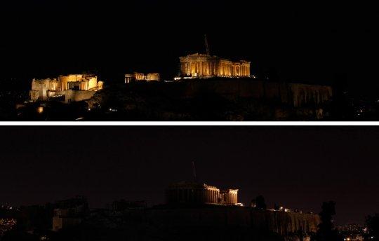 Парфенон, Греция(фото:Kostas Tsironis)