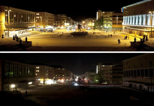 площадь Gotaplatsen и улица Kungsportsavenyn,Швеция