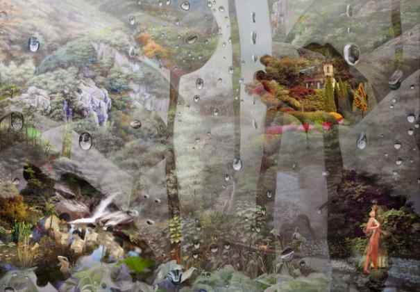 Вае Джунсунг - живопись и фотография - №14