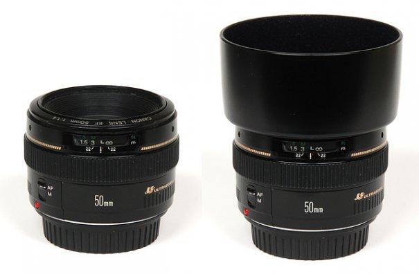 Обзор объектива Canon EF 50mm f/1.4 USM - №2