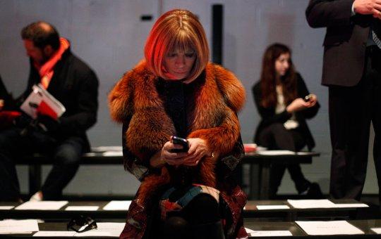 "Анна Вентура, редактор журнал ""Vogue"" (фото:Allison Joyce)"