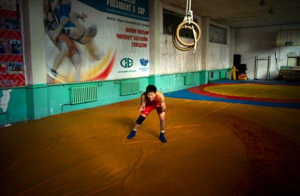 Вольная борьба, Монголия,спортсмен Мандахнаран Ганзор
