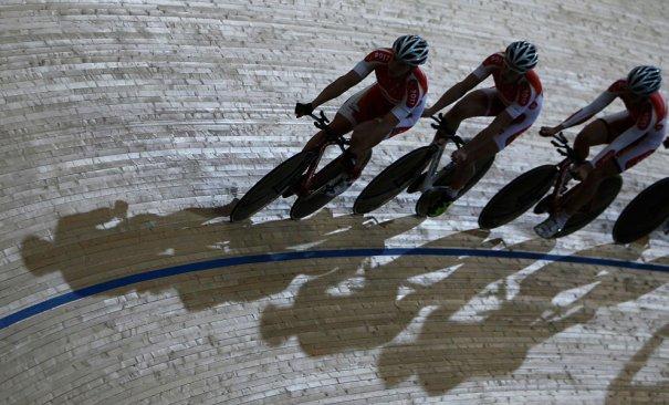 Олимпийский велодром(фото:Alastair Grant)