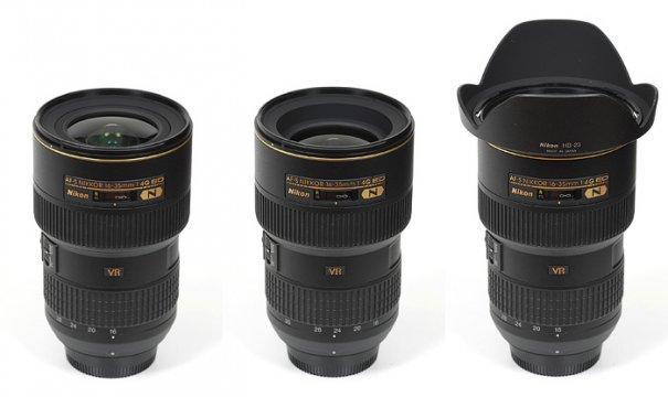Nikkor AF-S 16-35mm f/4 G ED VR