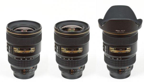 Nikkor AF-S 17-35mm f/2.8D IF-ED: