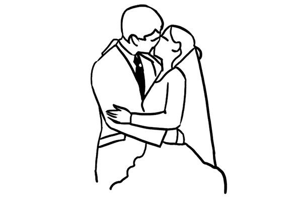 Работа над позами моделей: 21 пример поз для свадебных фотографий - №3