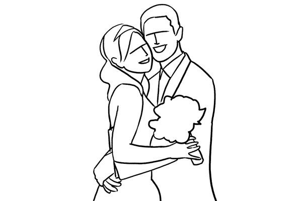 Работа над позами моделей: 21 пример поз для свадебных фотографий - №4