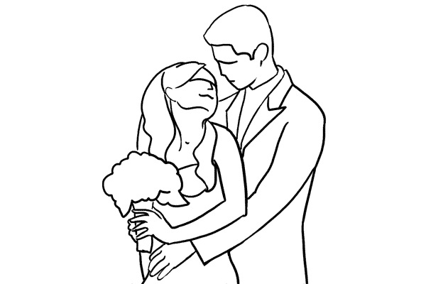 Работа над позами моделей: 21 пример поз для свадебных фотографий - №5