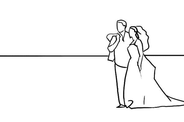 Работа над позами моделей: 21 пример поз для свадебных фотографий - №8