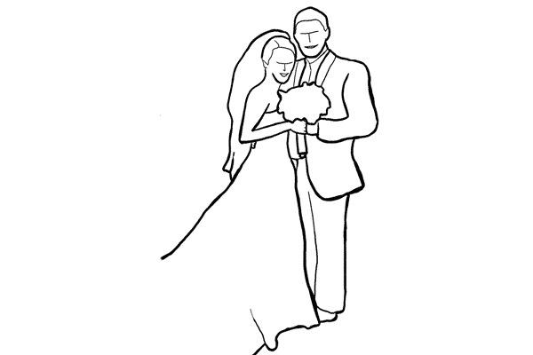 Работа над позами моделей: 21 пример поз для свадебных фотографий - №9