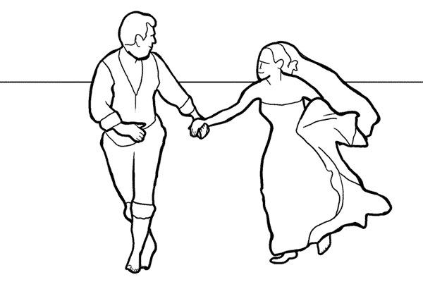Работа над позами моделей: 21 пример поз для свадебных фотографий - №13