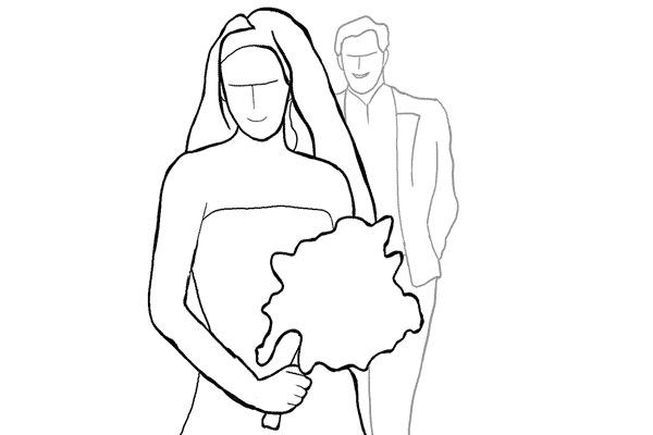 Работа над позами моделей: 21 пример поз для свадебных фотографий - №18