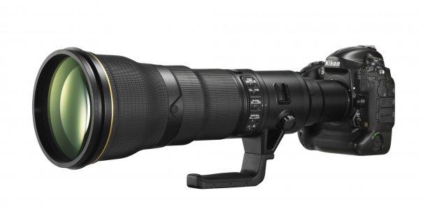 Nikon объявил о разработке супер телеобъектива 800mm F5.6 - №1