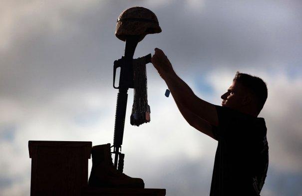 (Reuters/Reece Lodder, U.S. Marine Corps)
