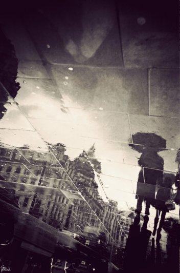 Лондон в отражении луж. Гэвин Хаммонд - №6